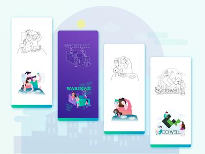 Illustration for Warikan App