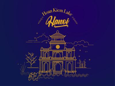 Hoan Kiem Lake- Hanoi