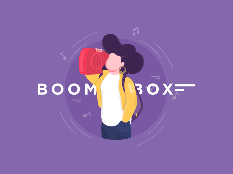 Boombox trend young life life music hip-hop new generation boombox