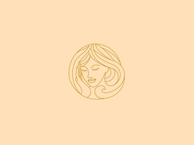 Hair wave salon logo beauty logo line art skincare logo health care medical logo butterfly logo wellness logo minimalist logo symbol hair logo hair salon salon logo shop icon monoline illustration design company branding logo