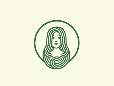 lady logo mermaid mascot logo symbol salon drink bean coffee shop food and drink coffee cafe starbucks starbucks logo shop icon monoline vector illustration branding logo
