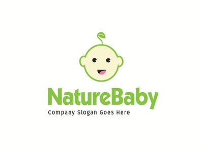 nature baby logo