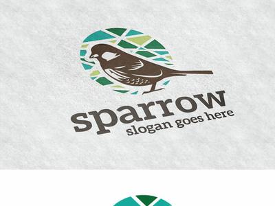 sparrow by Mariyana on Dribbble