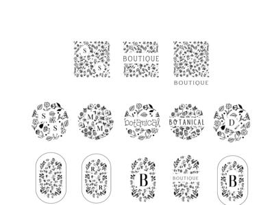 botanic handrawn