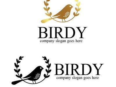 birdy logo by Mariyana on Dribbble