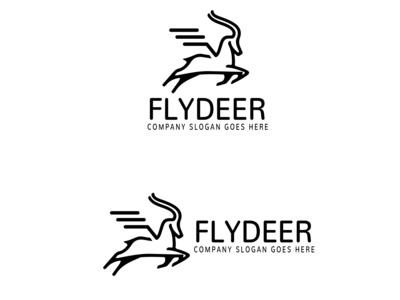deer angel logo