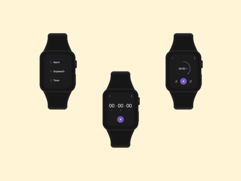 Timer app for Smart Watch - XD Daily Challenge