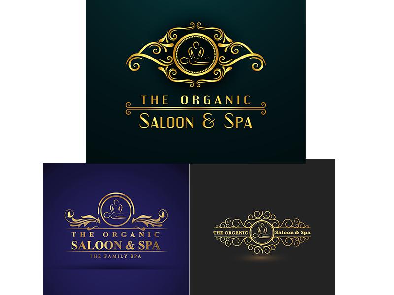 Salon and Spa Logo service logo