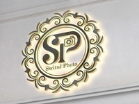 SP | Switul Photo Logo  Mockup