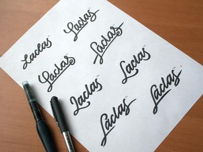 Laclas pathfinder lettering artist calligraphy artist evgeny tkhorzhevsky calligraphy and lettering artist hand lettering logo lettering logo calligraphy logo et lettering calligraphy logo font type