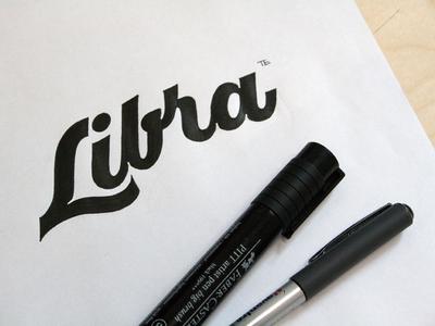 Libra et lettering calligraphy logo font type calligraphy logo lettering logo hand lettering logo calligraphy and lettering artist evgeny tkhorzhevsky calligraphy artist lettering artist