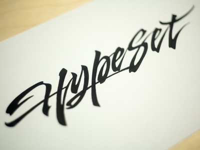 Hypeset et lettering calligraphy logo font type calligraphy logo lettering logo hand lettering logo calligraphy and lettering artist evgeny tkhorzhevsky calligraphy artist lettering artist