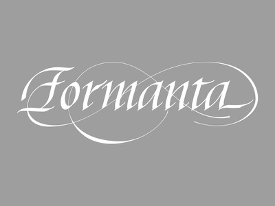 Formanta lettering artist calligraphy artist evgeny tkhorzhevsky calligraphy and lettering artist hand lettering logo lettering logo calligraphy logo type font logo calligraphy et lettering