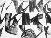 Calligraphic Pixels