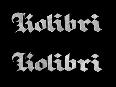 Kolibri et lettering calligraphy logo font type calligraphy logo lettering logo hand lettering logo calligraphy and lettering artist evgeny tkhorzhevsky calligraphy artist lettering artist
