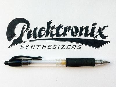 Pucktronix lettering artist calligraphy artist evgeny tkhorzhevsky calligraphy and lettering artist hand lettering logo lettering logo calligraphy logo type font logo calligraphy et lettering