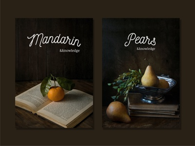 Vintage fruit posters fruit photography foodphotography typogaphy poster graphic design design vietnam