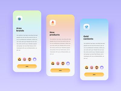 Software evaluation platform App 2 design uidesign
