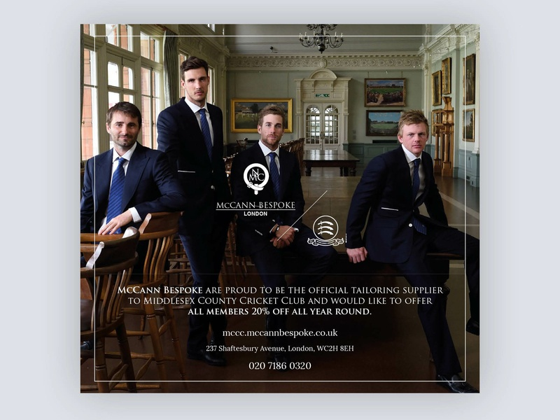 Newspaper Advert For London Suit Tailor print newspaper advertising advert typography logo sport branding design