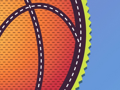 Typos Logo logo vector basketball orange patch pattern team