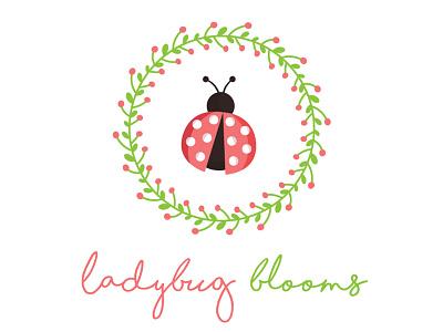 Ladybug logo ladybug blooms flowers ladybug