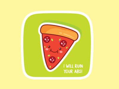 Naughty pizza sticker naughty pizza sticker mule vinnys pizza playoff abs pizza