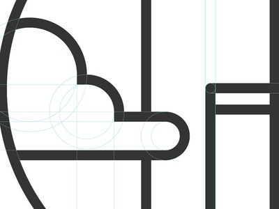 Chicago t-shirt logo logo clouds geometric circles guides chicago minimal minimalistic illustrator vector sears tower willis tower