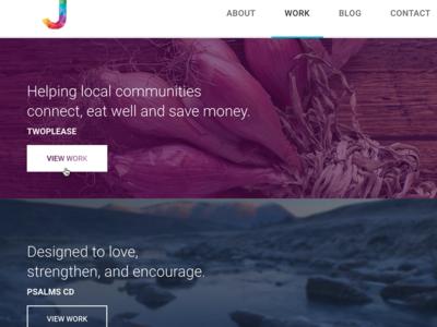 Website redesign - Portfolio website redesign portfolio work responsive rwd