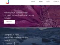 Website redesign - Portfolio