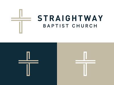 Straightway Baptist Church mark s letter cross baptist church logo