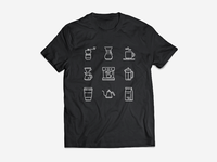 Coffee Icons - Updated + T-Shirt