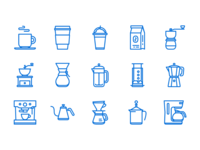 Coffee Icons - Updated II