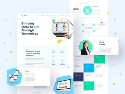Troon Website Redesign clean software company website uxdesign uidesign web interface website design web design