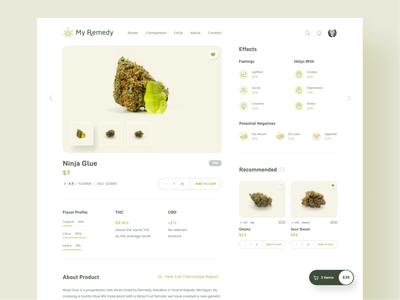 My Remedy Product Design design flat icon design interface design clean neat cannabis design userexperiencedesign userinterface remedy application ui health product ui design ux design ux  ui product designer web product product design