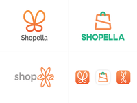 Shopella Logo Options