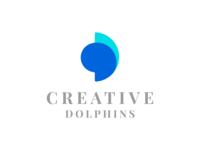 Creative Dolphins Logo