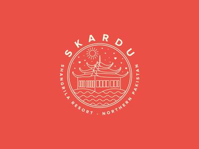 Skardu, Northern Pakistan Sticker