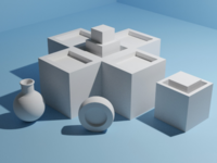 Various objects - daily modeling practice