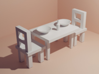 Dinning Table - daily modeling practice