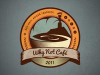 Why Not Café - New Logo Concept
