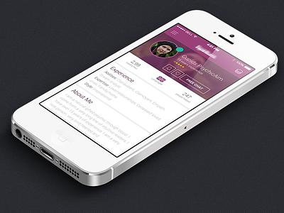 Iphone ios7 app