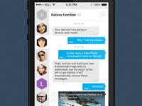 Hi've SMS app