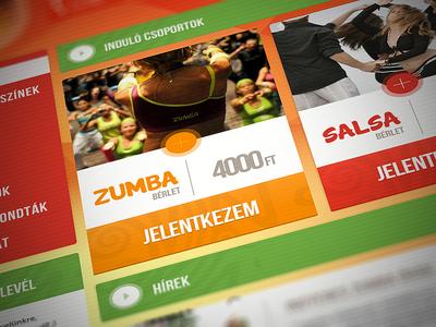 Salsa Mojito site concept