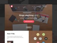 TiBe™ - Landing page
