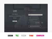 Leak™ - Landing page