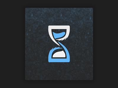Time Hero Application Logo icon dark desgin logo