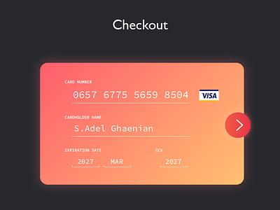 Checkout Page Dayliui dailyui