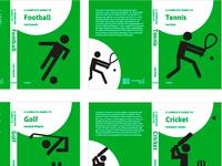 Sports non-fiction series book cover design
