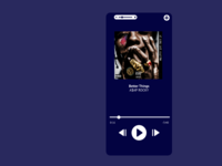 UI 009 Music player