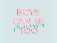 boys can be